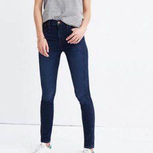 "Madewell High Riser Skinny Jeans 10"" Rise Sz 29x32"